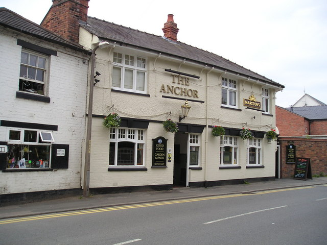The Anchor Pub, Diglis, Worcester