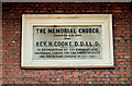 J3473 : Henry Cooke plaque, Belfast by Albert Bridge