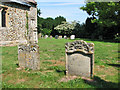 TF7132 : The church of SS Peter and Paul in Shernborne - churchyard by Evelyn Simak