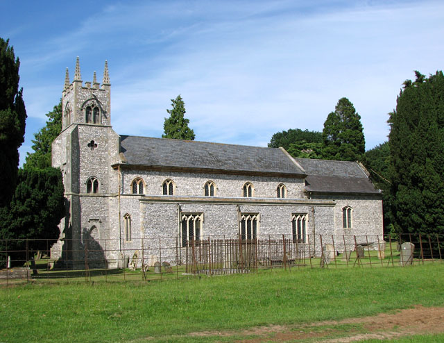 St Martin's church in Houghton