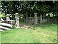 NY7147 : Entrance to Harbut Lodge by Philip Barker