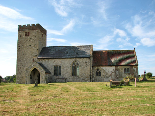 All Saints' church in Tattersett