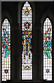 TF8628 : St Margaret's church in Tatterford - east window by Evelyn Simak