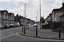 ST3186 : Junction of Docks Way & Mendalgief Road by Nick Mutton