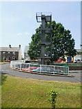 SO6303 : Training tower, Lydney Fire Station by Jaggery