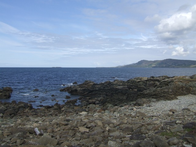 Tip of the peninsula at Drumanoo Head