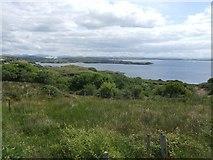 G7074 : Rough farmland on Drumanoo Head by John M
