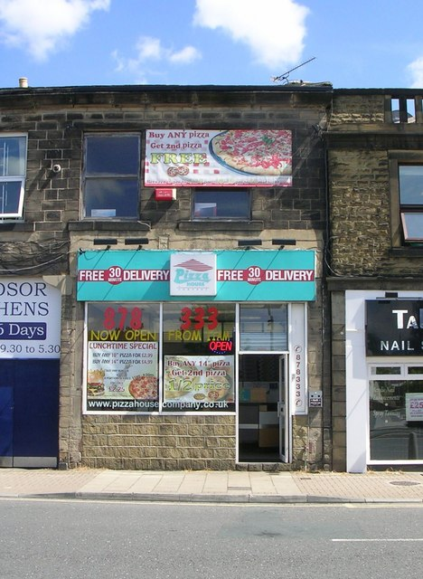 Pizza House Otley Road Betty Longbottom Geograph