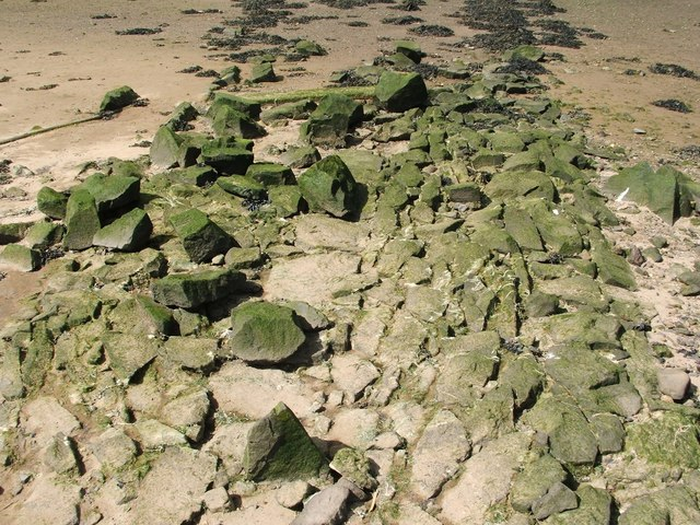 Cobbles on site of supposed Roman Causeway