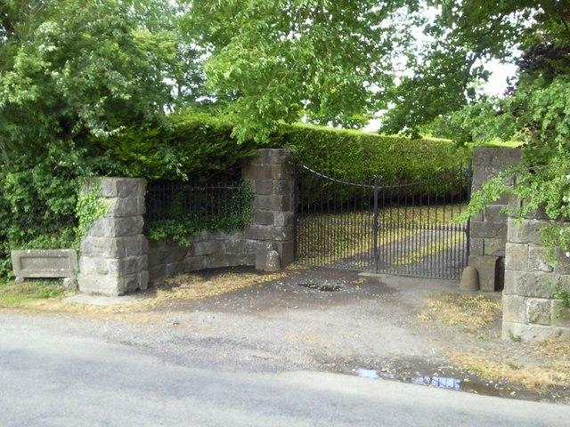 Gate, Gilliamstown, Co Meath