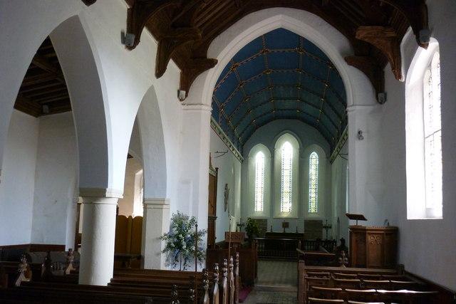 St Mary, Little Bentley, interior