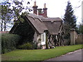 SO7744 : Lodge house to 'The Firs', Wells Road, Malvern Common by John Brightley