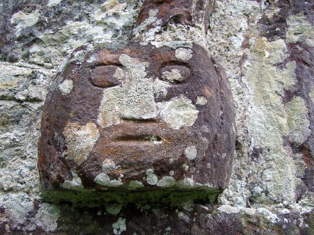 Face (1) on Meline church