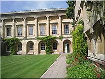 SP5106 : Back Quad, Oriel College, Oxford by Marathon