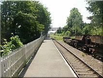 SO6302 : Platform, St Mary's Halt, Lydney by Jaggery