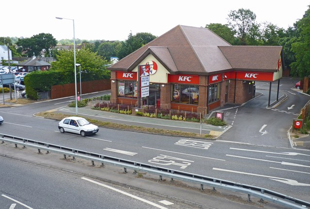 KFC at Somerford Roundabout