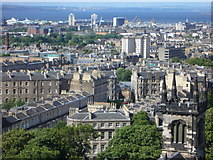 NT2674 : View towards Pilrig from the Calton Hill by kim traynor