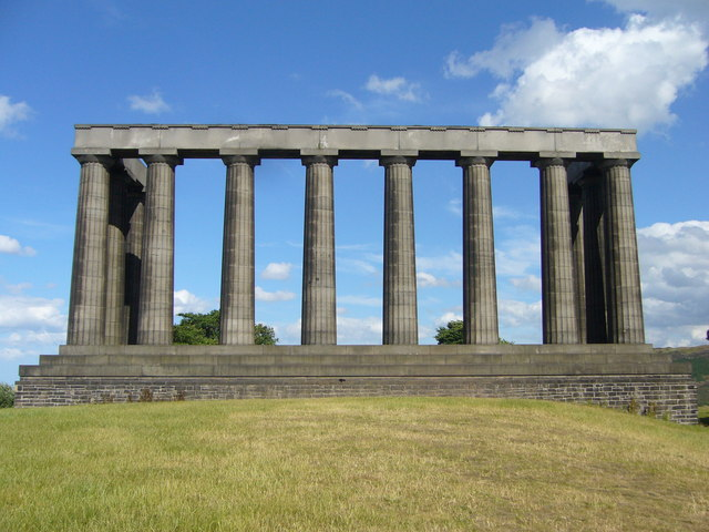 National Monument on the Calton Hill