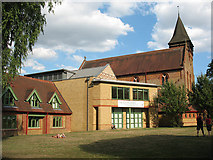 TQ2775 : St Mark's church and hall, Battersea Rise by Stephen Craven