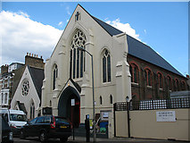 TQ2774 : Ransom Pentecostal Church, Battersea by Stephen Craven