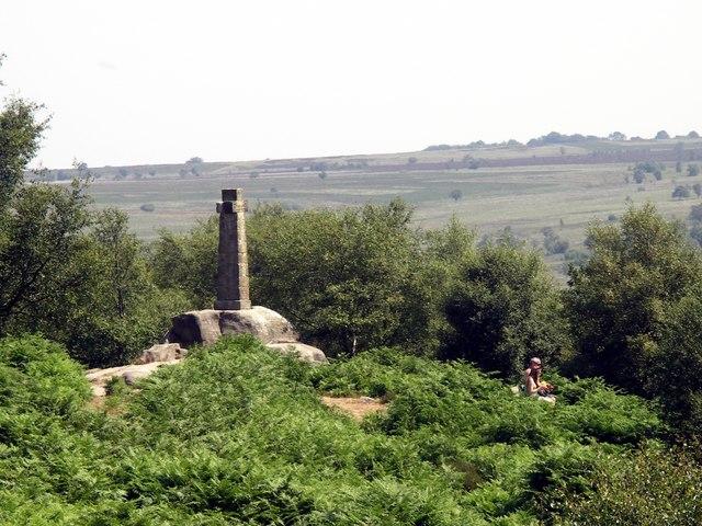 Wellington's Monument, Baslow Edge, Derbyshire