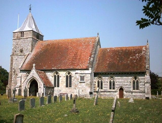 All Saints church Steeple Langford