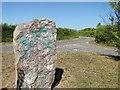 TM4493 : Stone of Destiny, Aldeby, Norfolk by Adrian S Pye