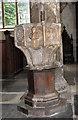 TF6120 : St Nicholas' Chapel in Kings Lynn - holy water stoup by Evelyn Simak