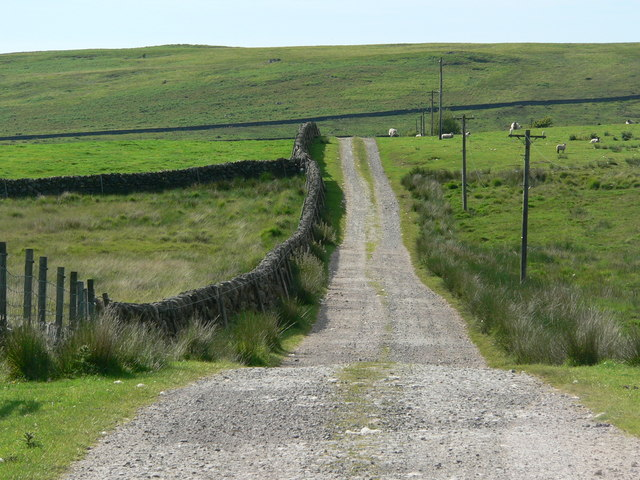 High track to Clanery Farm