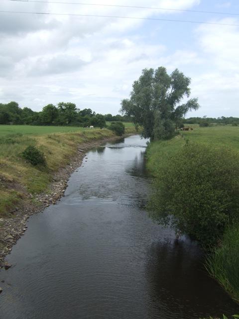 River Boyne downstream of Inchamore Bridge