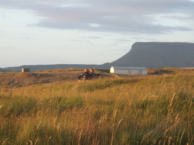A quiet moment with Yeats on Rosses Point