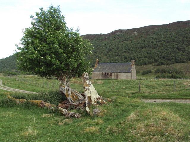 Abandoned house in Glen Banchor