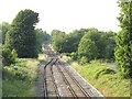 SJ7067 : Single track to Northwich by Stephen Craven