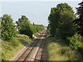 SJ7066 : Railway through Middlewich by Stephen Craven