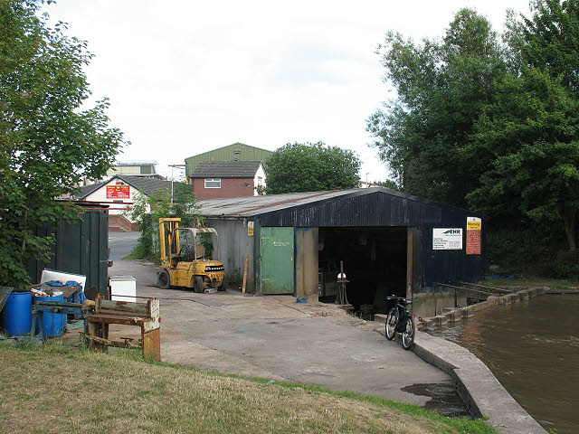 Boat repair workshop, Middlewich