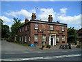 SJ6834 : The Talbot Pub, Market Drayton by canalandriversidepubs co uk
