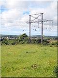 SW7436 : Pylon at Trevales by Rod Allday