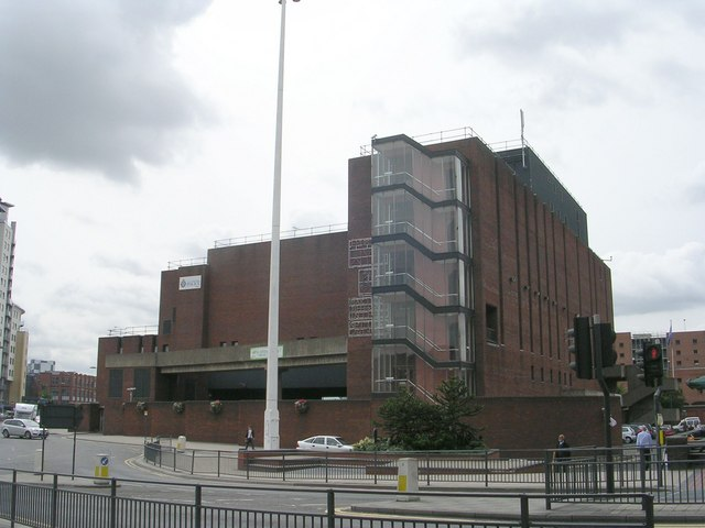 Millgarth Police Station - viewed from Eastgate