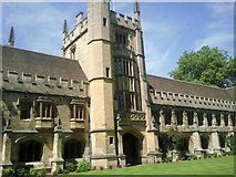 SP5206 : The Founder's Tower, Magdalen College, Oxford by Marathon