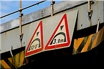 J4681 : Railway bridge, Helen's Bay (5) by Albert Bridge