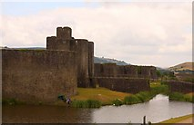ST1587 : Caerphilly Castle by Steve Daniels