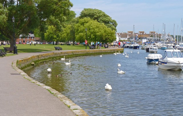 The River Stour at Christchurch
