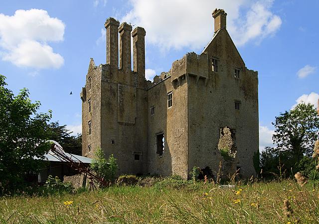Castles of Leinster: Ballycowan, Offaly (1)