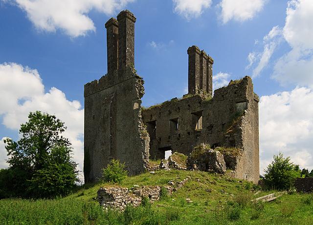 Castles of Leinster: Ballycowan, Offaly (3)