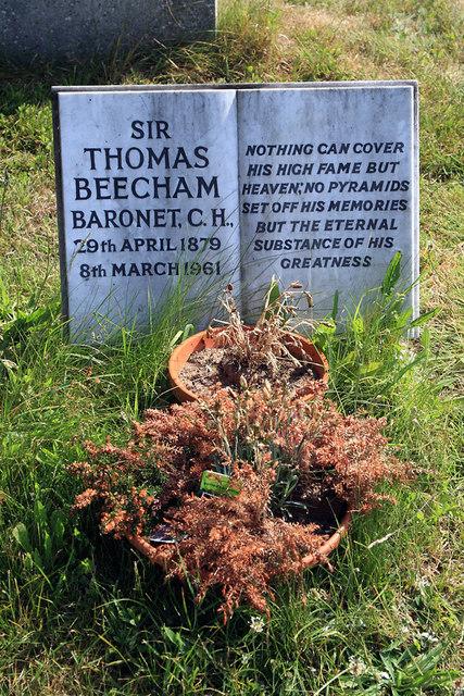 Grave of Sir Thomas Beecham