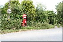 SW7038 : Phone box at Penhalvean by Rod Allday