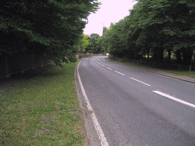 A167 entering Hurworth Place
