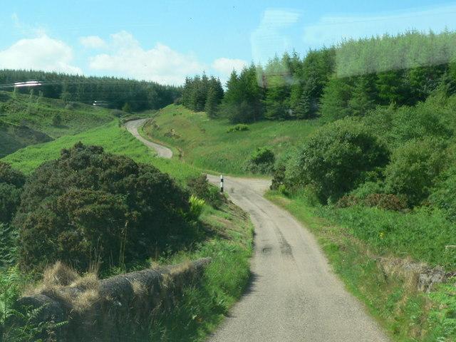 Road through Lochorodale