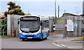 J5979 : Bus, Donaghadee by Albert Bridge