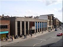 NS5667 : Hillhead Library, Byres Road, Glasgow by David McMumm